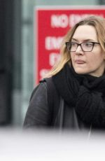 KATE WINSLET Out and About in London 12/20/2018