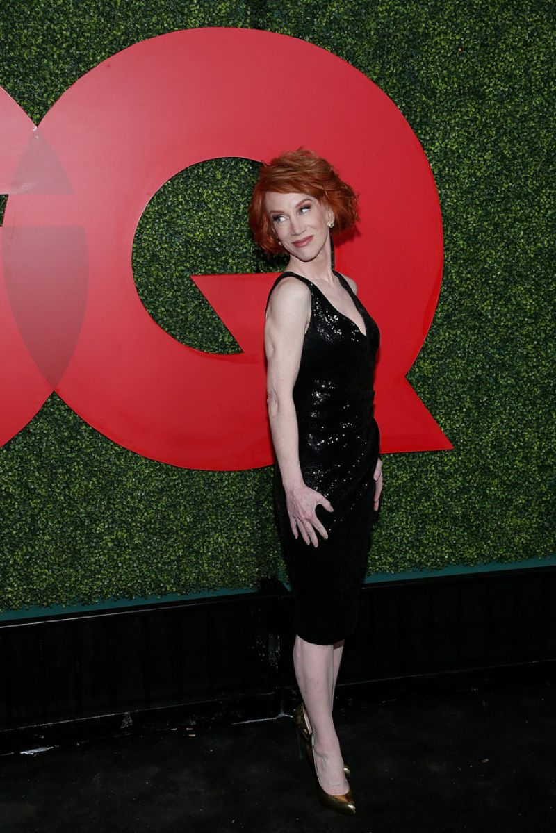 KATHY GRIFFIN at GQ Men of the Year Party in Beverly Hills 12/06/2018