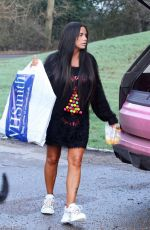KATIE PRICE Out and About in Brighton 12/26/2018