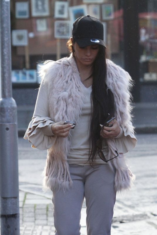KATIE PRICE Out and About in Worthington 12/19/2018