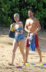 KATY PERRY in Swimsuit at a Beach in Hawaii 12/27/2018