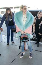 KESHA SEBERT at Los Angeles International Airport 12/21/2018
