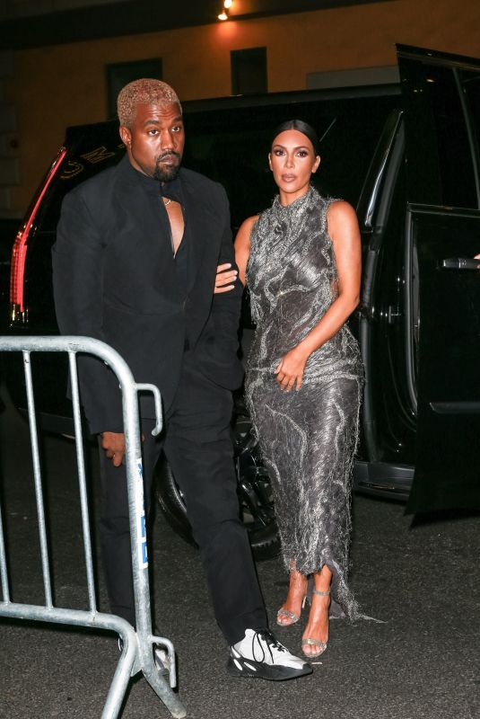KIM KARDASHIAN and Kanye West at Cher Musical in New York 12/03/2018