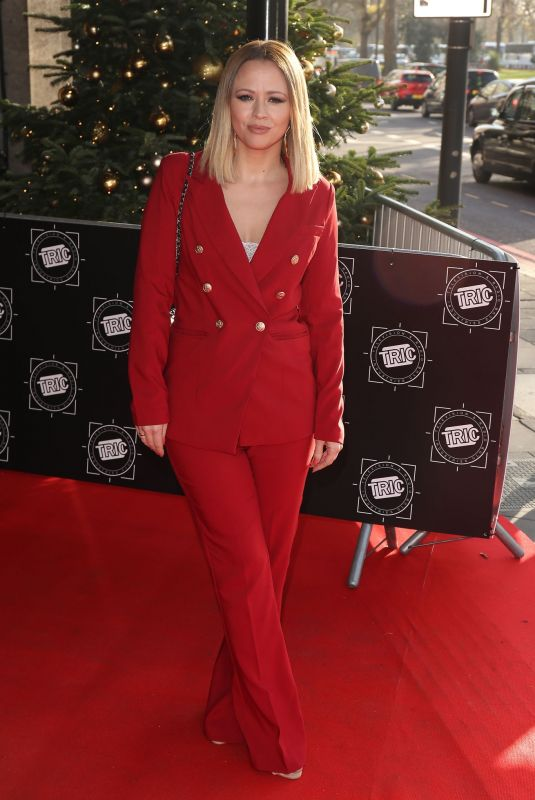 KIMBERLEY WALSH at Tric Christmas Lunch in London 12/11/2018