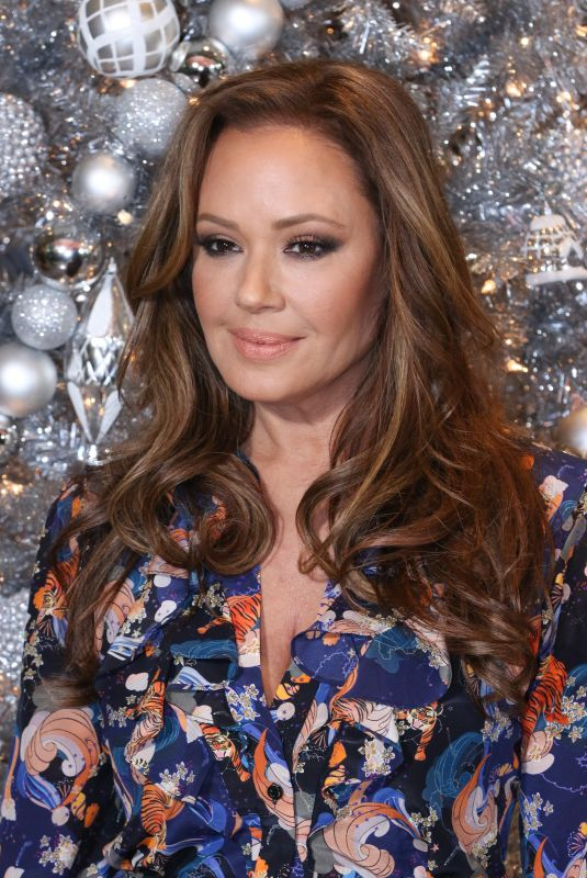 LEAH REMINI at Second Act Photocall in Los Angeles 12/09/2018