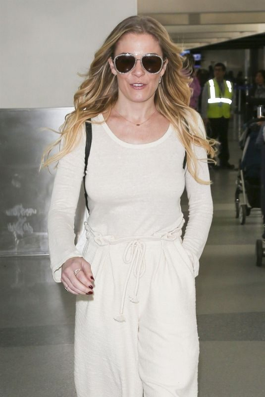 LEANN RIMES at LAX Airport in Los Angeles 12/26/2018