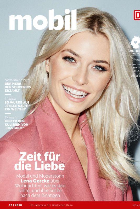 LENA GERCKE dor DB Mobil Magazine, December 2018
