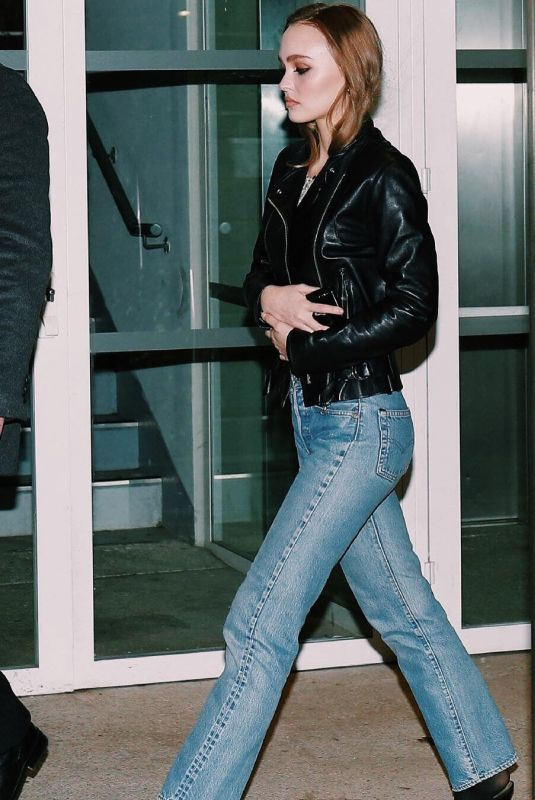 LILY-ROSE DEPP in Denim Out in Paris 12/17/2018