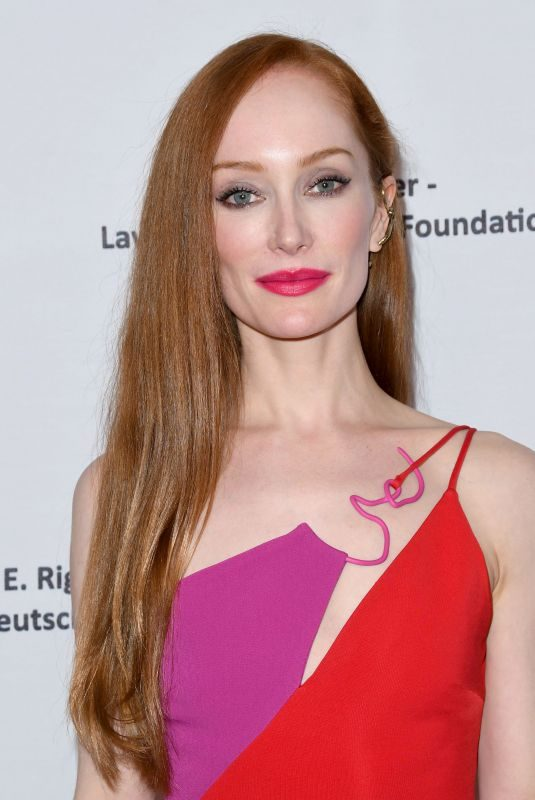 LOTTE VERBEEK at American Ballet Theatre's Holiday Benefit in Beverly Hills 12/17/2018