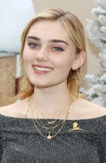 MEG DONNELLY at Brooks Brothers Holiday Celebration in Los Angeles 12/09/2018
