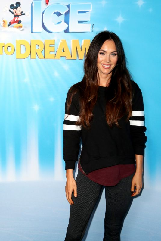 MEGAN FOX atr Disney on Ice Presents Dare in Los Angeles 12/14/2018