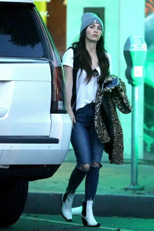 MEGAN FOX Out Shopping in Beverly Hills 12/13/2018