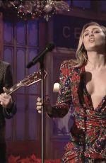 MILEY CYRUS at Saturday Night Live 12/15/2018