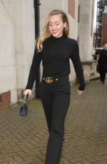 MILEY CYRUS Out and About in London 12/05/2018