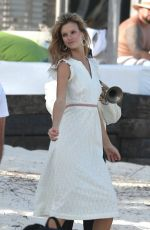 NADINE LEOPOLD on the Set of a Photoshoot in Tulum 12/14/2018