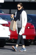 NATALIE PORTMAN Out Shopping in Los Angeles 12/28/2018
