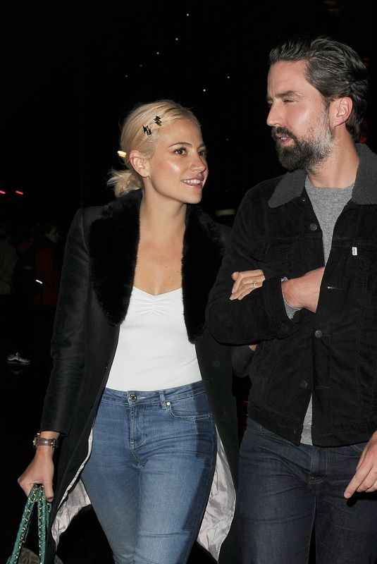 PIXIE LOTT and Jack Guinness Leaves Chicago The Musical in London 12/18/2018