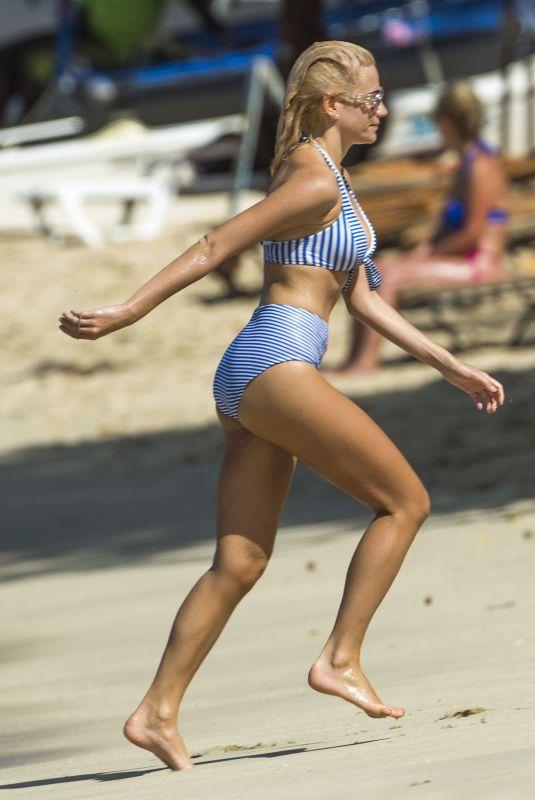 PIXIE LOTT in Bikini at a Beach in Kauai, November 2018