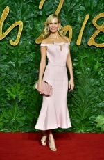 POPPY DELEVINGNE at British Fashion Awards in London 12/10/2018