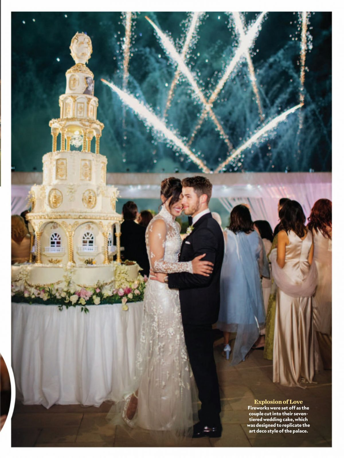 Priyanka Chopra And Nick Jonas Wedding Photos For People Magazine