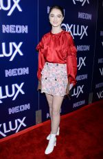 RAFFEY CASSIDY at Vox Lux Premiere in Hollywood 12/05/2018