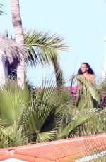 RIHANNA on Vacation in Los Cabos 12/18/2018