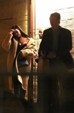 RIHANNA Out for Dinner in Malibu 12/23/2018
