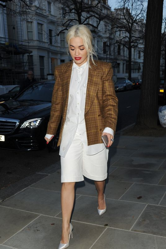 RITA ORA Out in Notting Hill in London 12/12/2018
