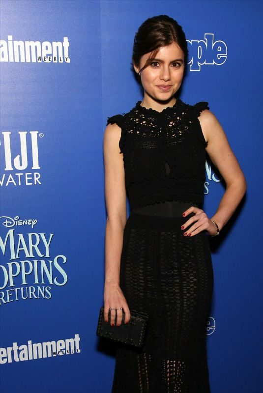 SAMI GAYLE at Mary Poppins Returns Screening in New York 12/19/2018
