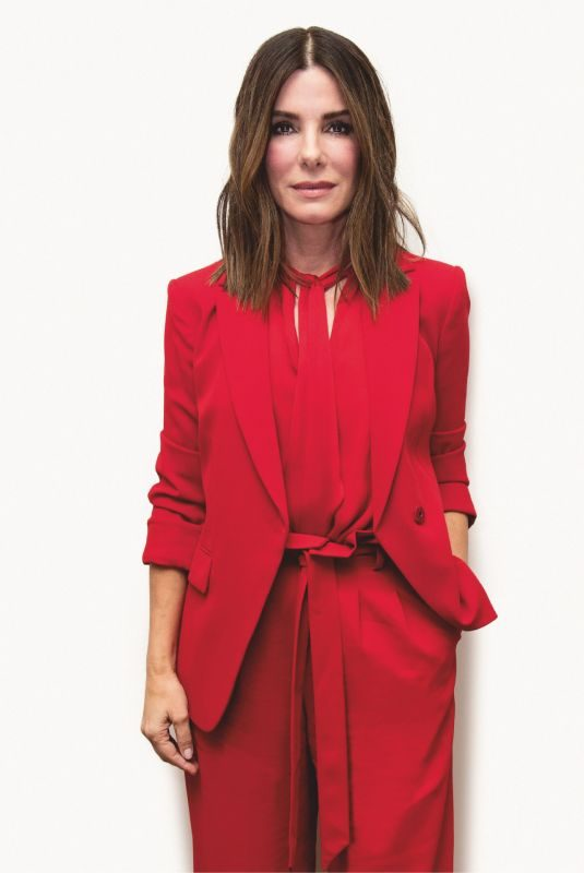 SANDRA BULLOCK in Total Film, January 2019