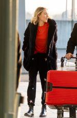 SAOIRSE RONAN at Heathrow Airport in London 12/11/2018
