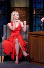 SAOIRSE RONAN at Late Night with Seth Meyers 12/17/2018