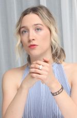 SAOIRSE RONAN at Mary, Queen of Scots Press Conference in Los Angeles 11/28/2018