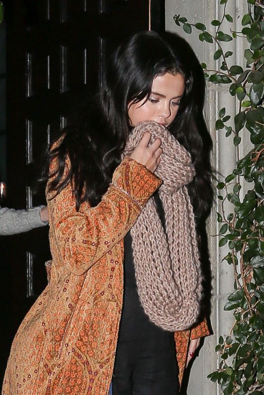 SELENA GOMEZ at Firefly in Los Angeles 12/20/2018