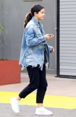 SELENA GOMEZ Out and About in Los Angeles 12/12/2018