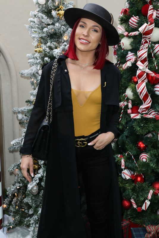 SHARNA BURGES at Brooks Brothers Annual Holiday Celebration 12/09/2018