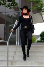 SHARNA BURGESS Out and About in Los Angeles 12/14/2018