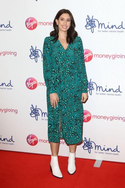STACEY SOLOMON at Virgin Money Giving Mind Media Awards in London 11/29/2018