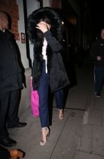 STACEY SOLOMON Leaves Strictly It Takes Two in London 11/30/2018