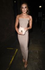 STEPHANIE DAVIS at Hollyoaks Chrismtas Party in Liverpool 12/14/2018