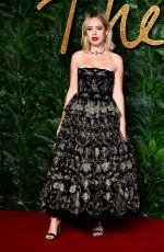 TANYA BURR at British Fashion Awards in London 12/10/2018