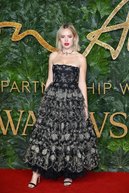 TANYA BURR at British Fashion Awards in London 12/10/2018