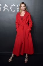 UMA THURMAN at Versace Pre-fall 2019 Fashion Show in New York 12/02/2018