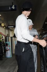 VANESSA HUDGENS Arrives at LAX Airport in Los Angeles 12/16/2018