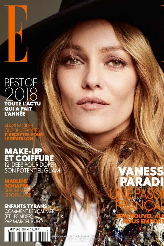 VANESSA PARADIS in Elle Magazine, France Decemeber 2018