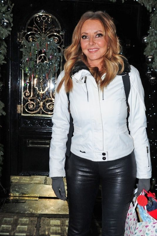 VAROL VORDERMAN Leaves Scott's Restaurant in London 12/20/2018