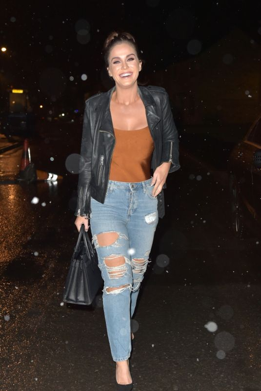 VICKY PATTISON in Ripped Jeans Night Out in Newcastle 12/15/2018