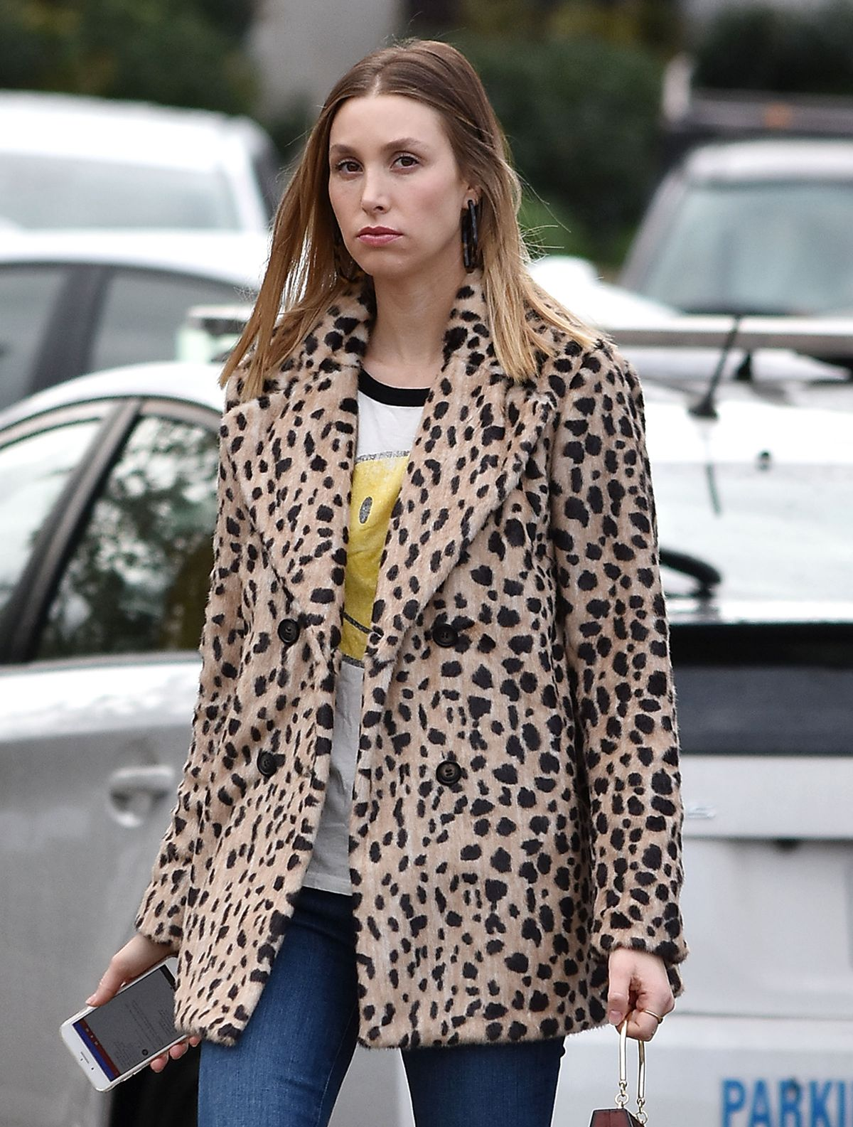 WHITNEY PORT Out and About in Los Angeles 11/29/2018