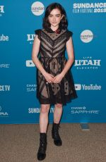 ABBY QUINN at After the Wedding Premiere at Sundance Film Festival 01/25/2019