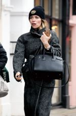 ABIGAIL ABBEY CLANCY Out on Kings Road in London 01/31/2019